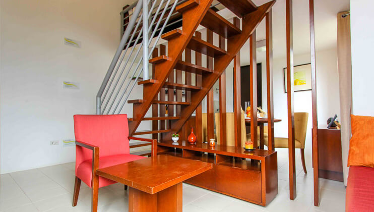 bellavita general trias cavite model unit interior gemelli stairs